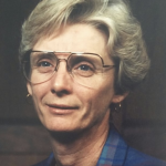 Image of a woman in glasses
