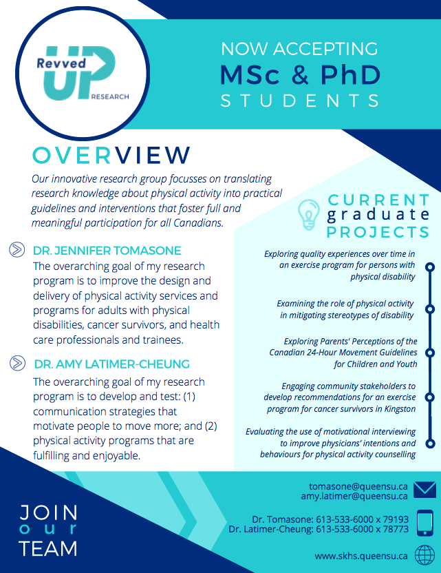 MSc and PhD poster